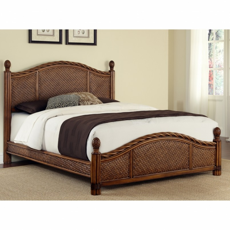 Seagrass Platform Bed | Pier One Seagrass Headboard | Seagrass Headboard King