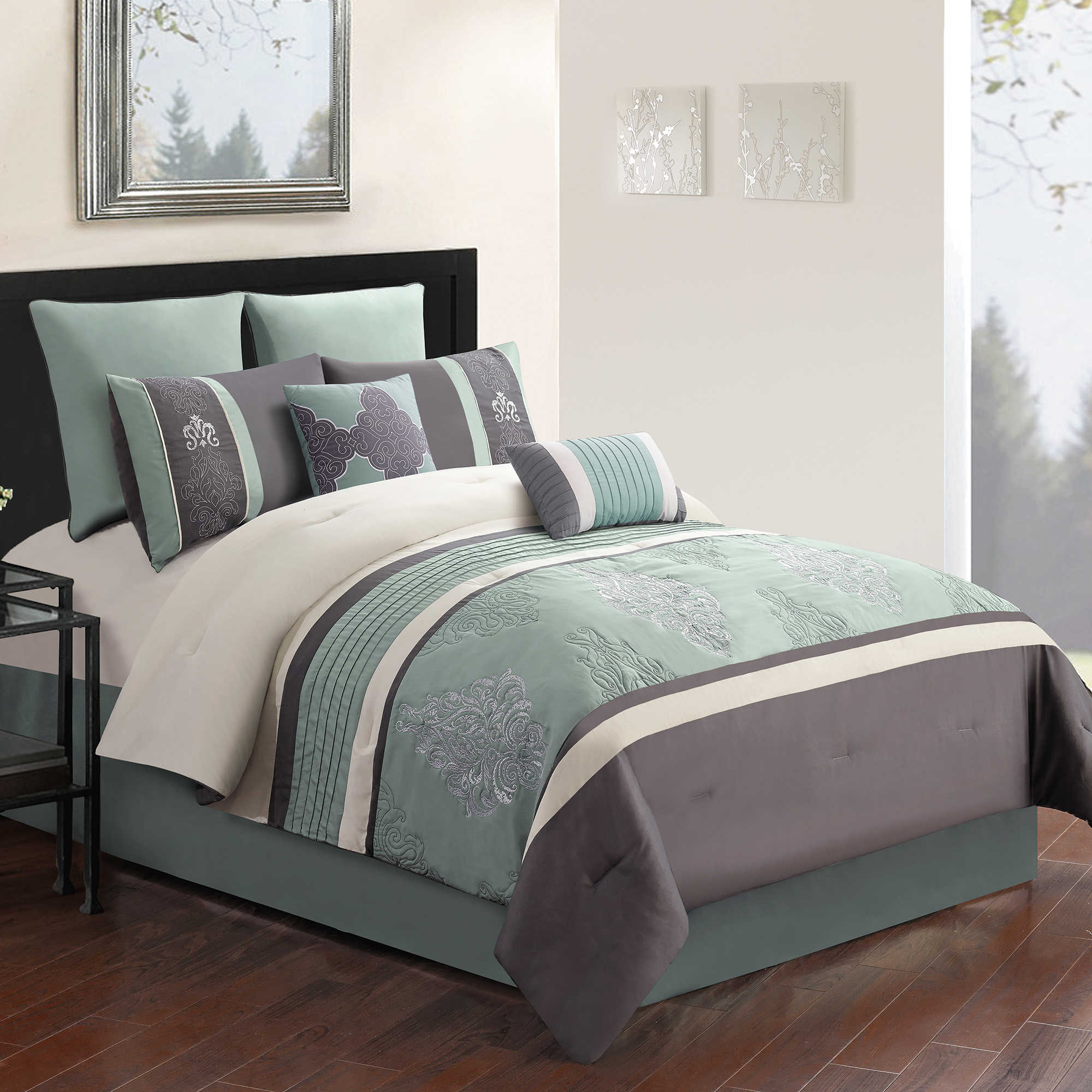 Bed Bath Beyond King Size Comforters Green
