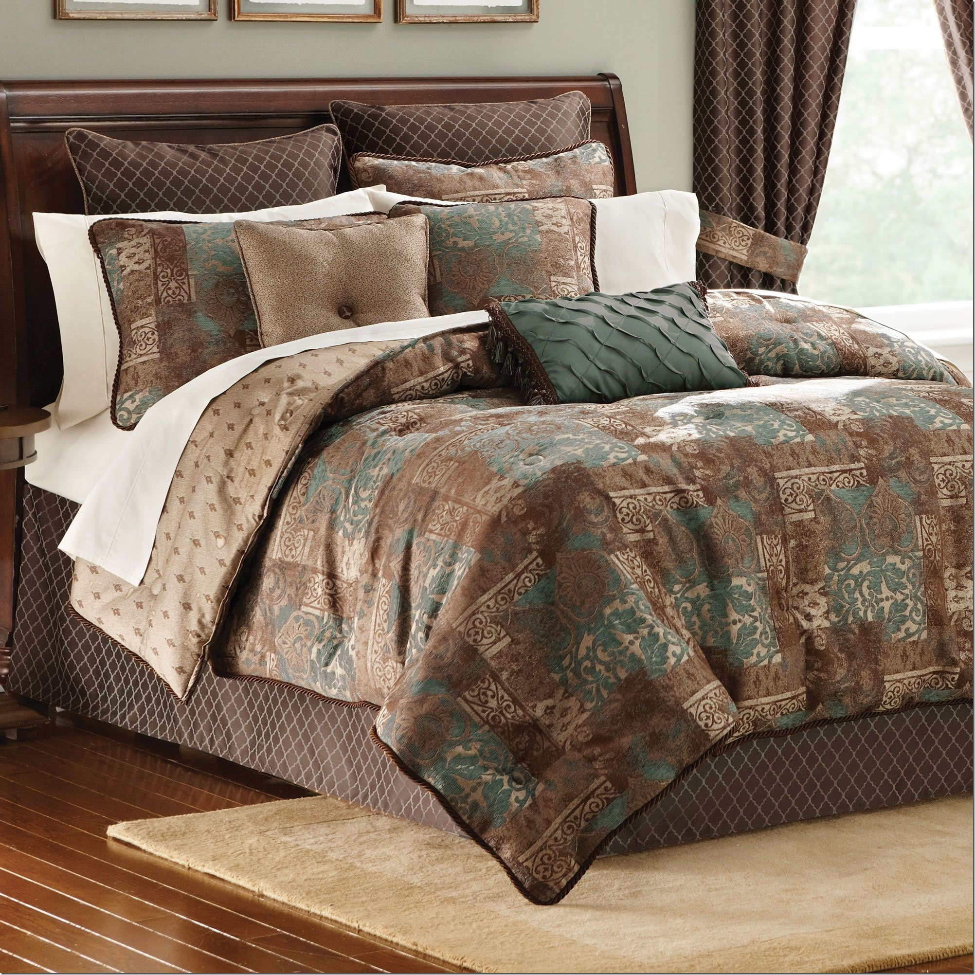 Sears Comforter Sets | Queen Coverlet | Burgundy King Size Comforter Set