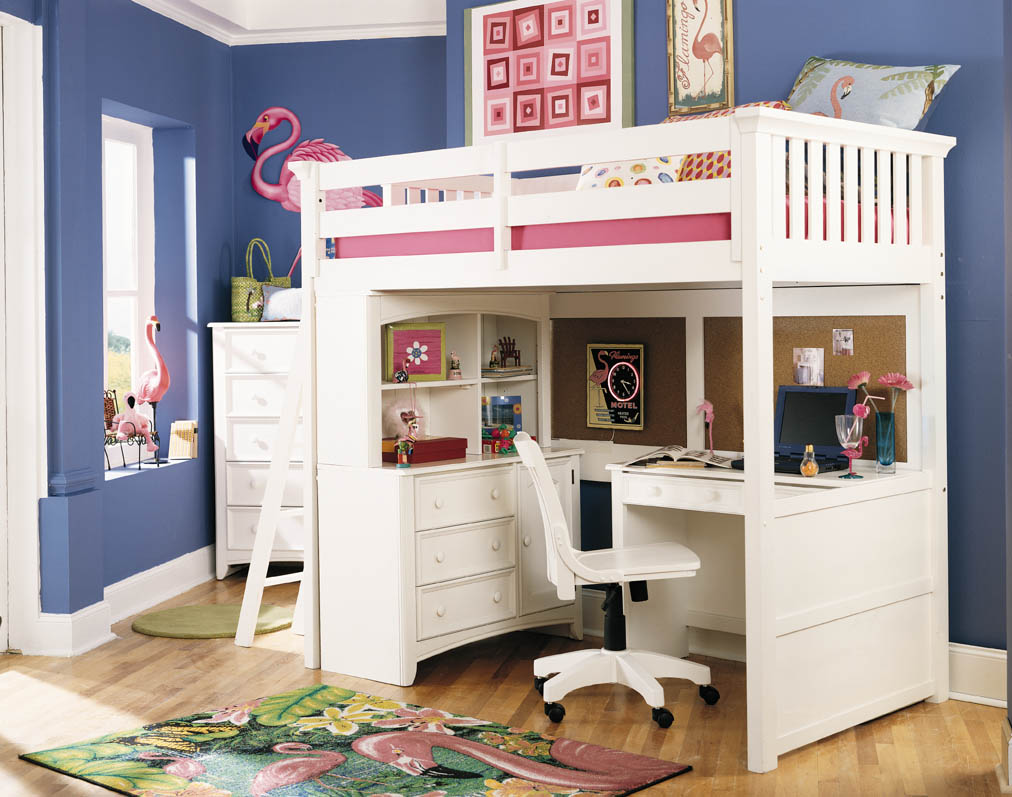Sensational Canwood Loft Bed | Comfy Cherry Loft Bed Design