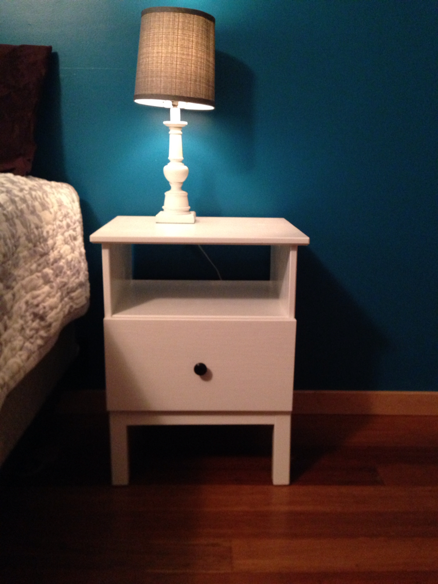 Nightstand Simple Design Of Tarva Nightstand For Bedroom