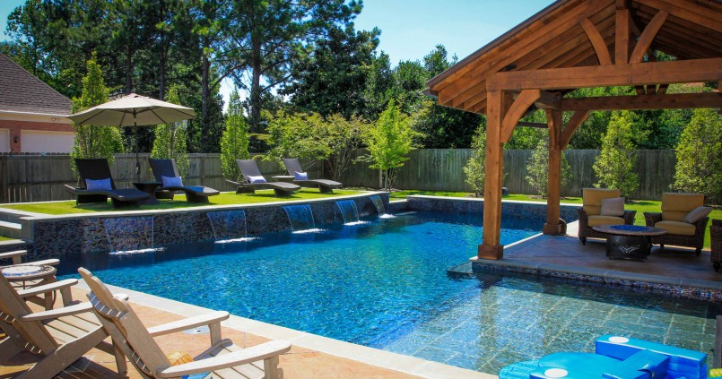 Small Backyard Inground Pool Design | Backyard Pool Designs | Backyard Pool Designs