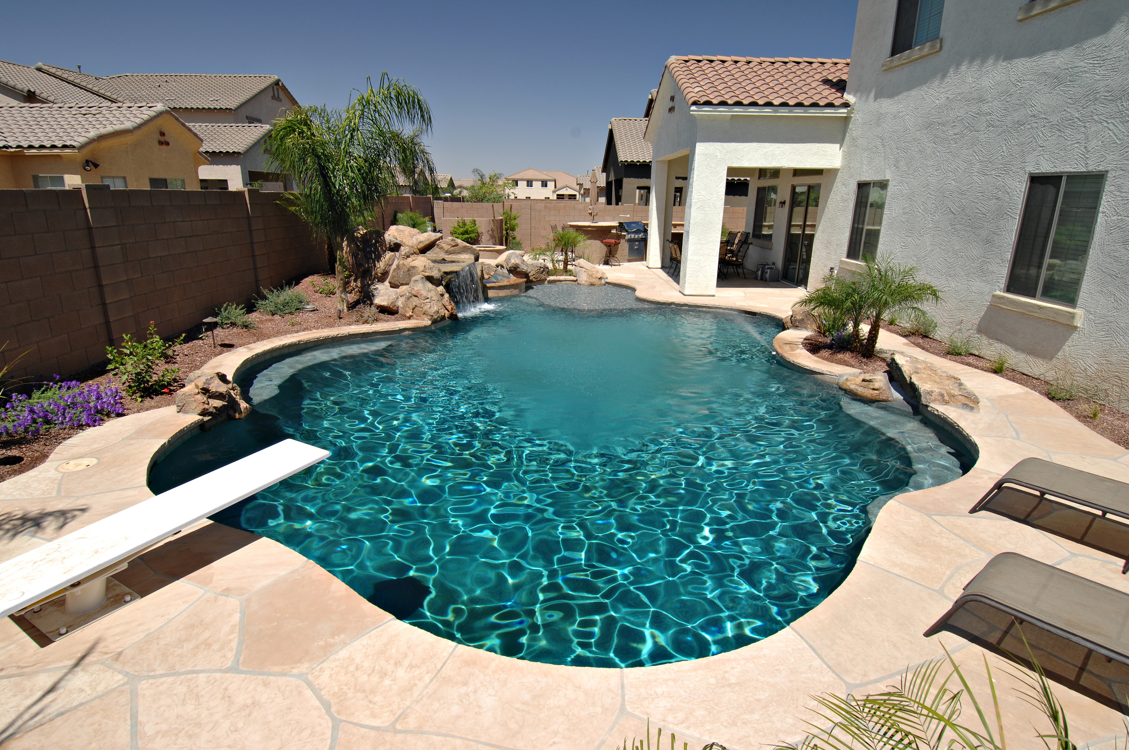 Small Backyards with Pools | Average Cost of Inground Swimming Pool | Backyard Pool Designs
