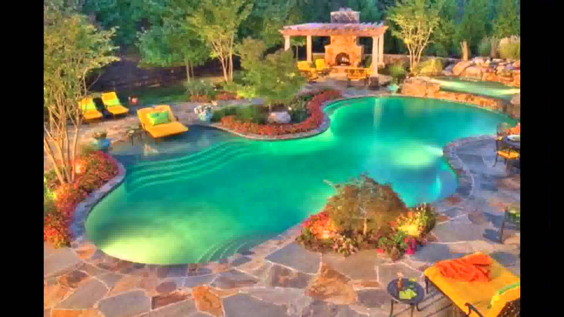 Cool Backyard Pool Designs for Your Outdoor Space: Small Backyards With Pools | Mini Pools For Small Backyards | Backyard Pool Designs