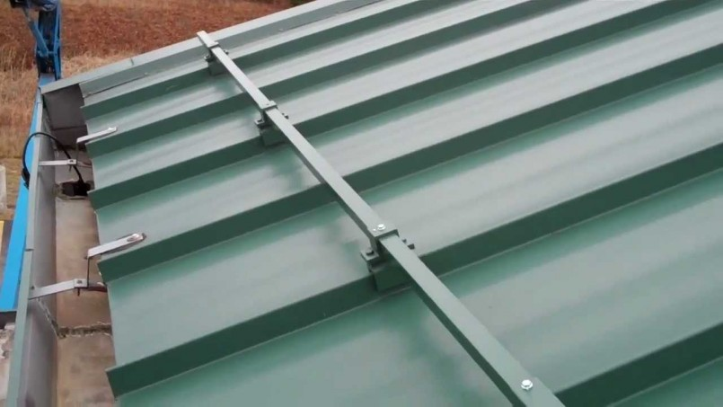 Snow Guards | Snow Brakes For Metal Roofs | Sno Barricade