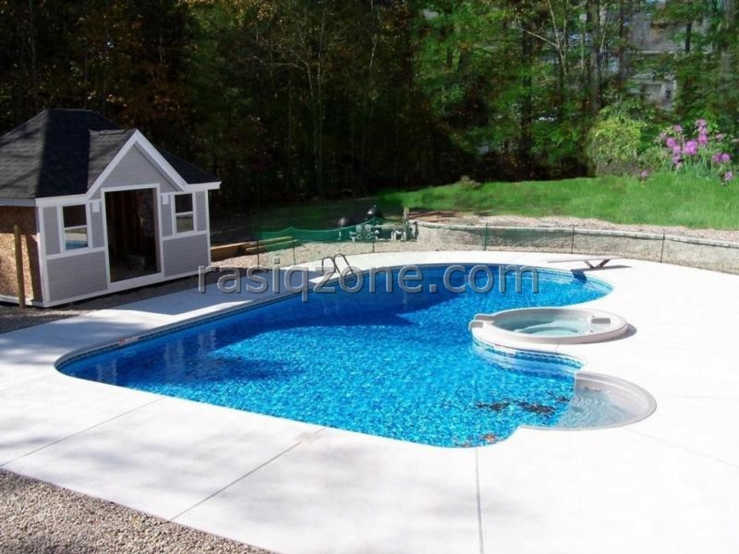 Cool Backyard Pool Designs for Your Outdoor Space: Swimming Pool Cabana Ideas | Backyard Pool Designs | Swimming Pool Costs