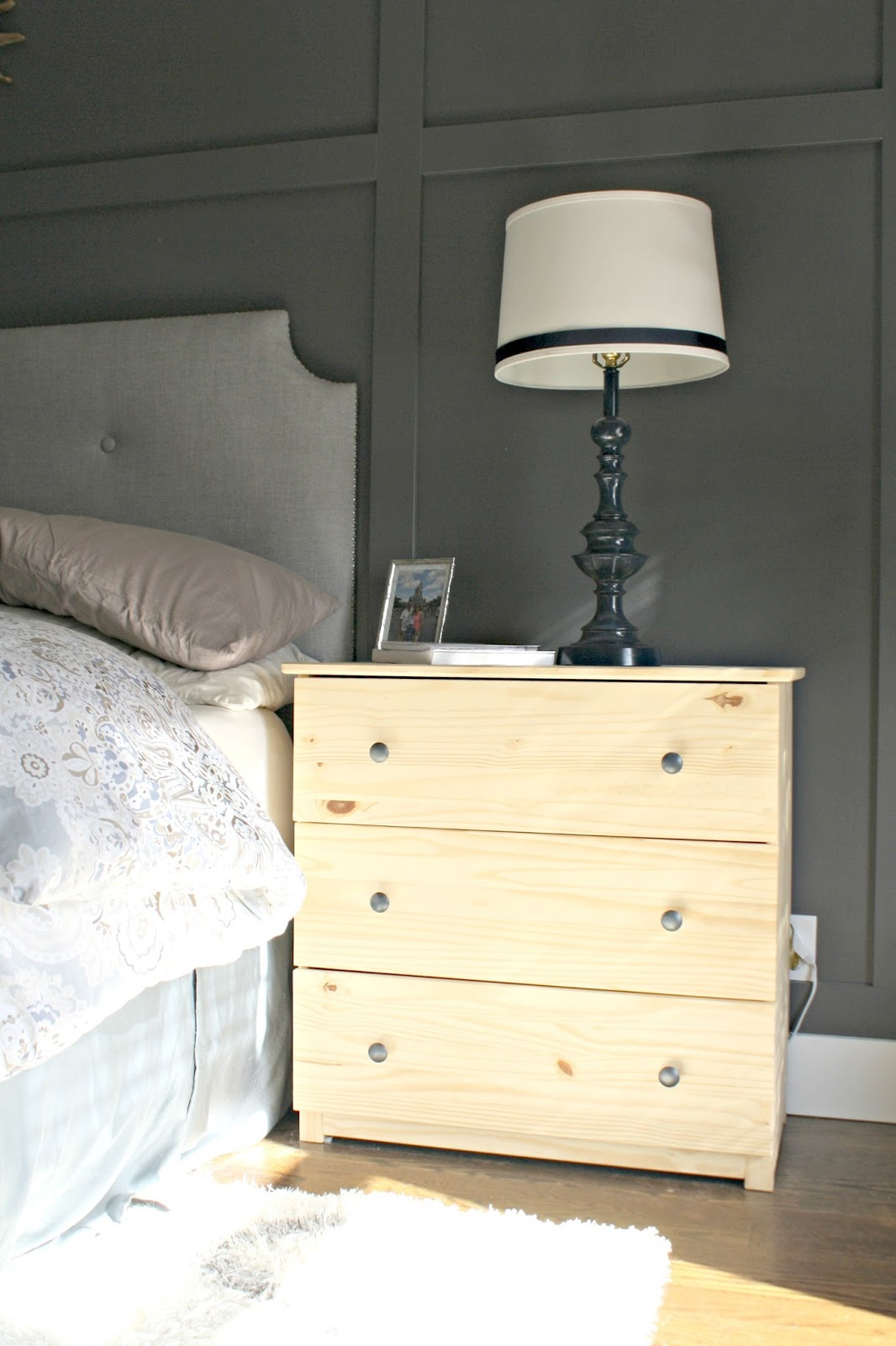 Tarva Nightstand | Floating Nightstand Ikea | Unfinished Nightstand