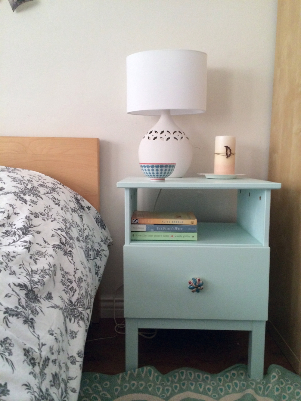 Unfinished Nightstand | Tarva Nightstand | Cherry Bedside Table