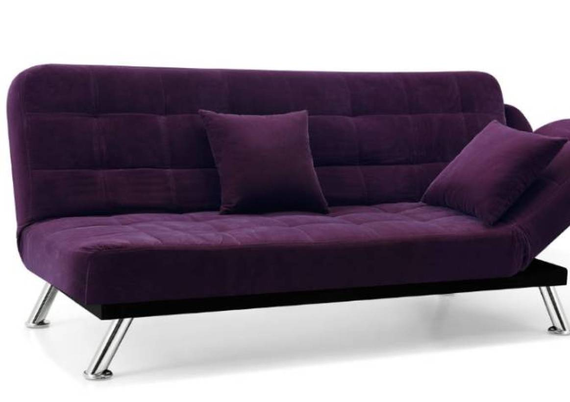Warm Purple Sofa to Complete Your Living Room Decor: Velvet Loveseat Sofa | Purple Sofa Slipcover | Purple Sofa