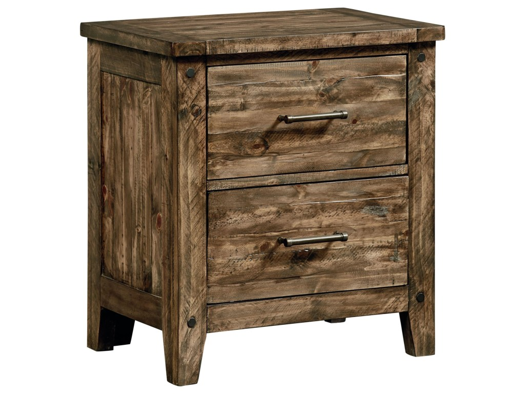 Inspire Your Home with Charming Rustic Nightstand: Vivacious Rustic Nightstand | Pretty Cedar Nightstand