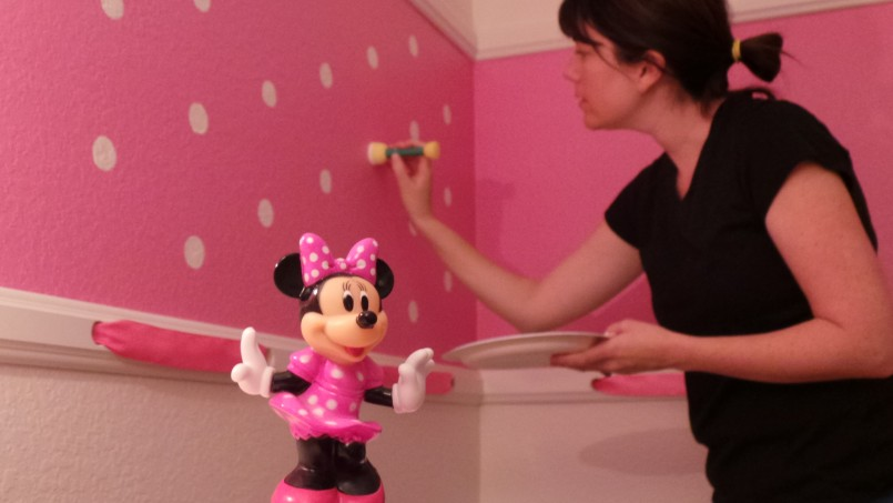 Wall Stickers Mickey Mouse | Minnie Mouse Wall Decor | Minnie Mouse Decorations For Bedroom