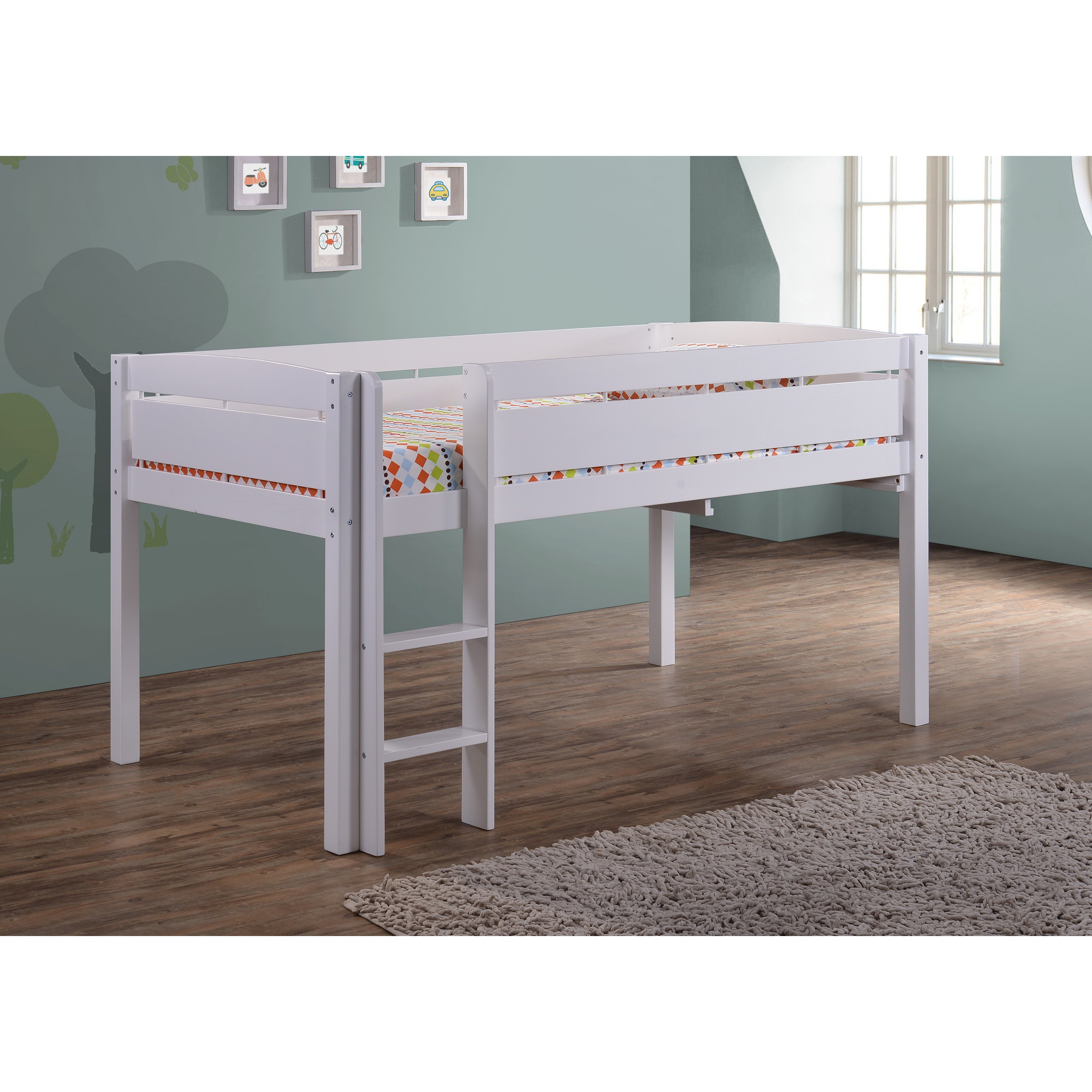 Winsome Junior Loft Bed Walmart Design | Nice Canwood Loft Bed