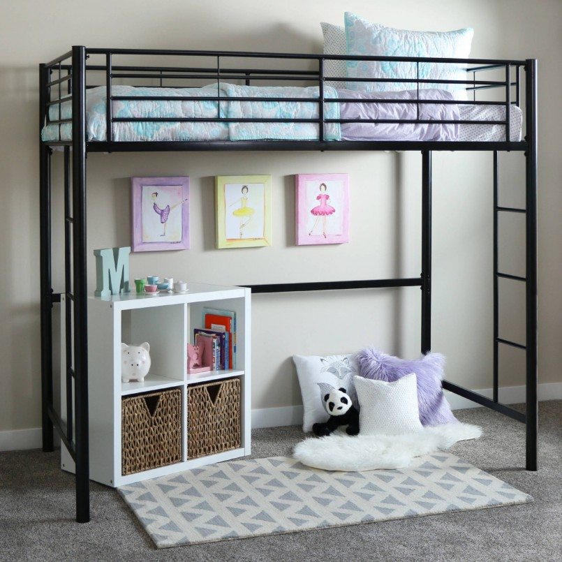 Wondrous Wood Junior Loft Bed | Exciting Canwood Loft Bed